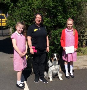 Dogs Trust visit Ballyclare Primary School